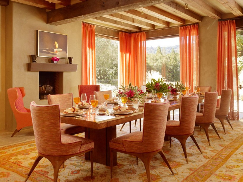 Orange-interior-design-dining-room-1024x767